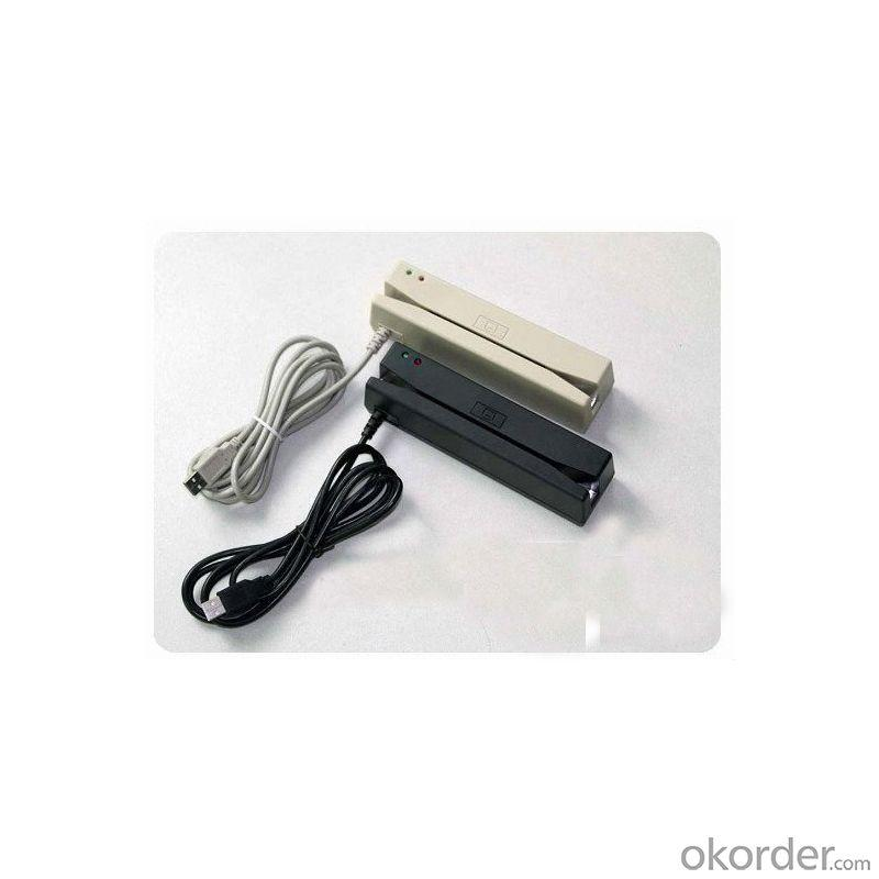 Smaller magnetic stripe card reader