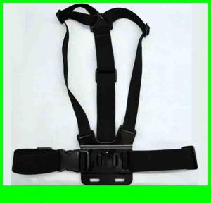 100 Pcs Lot Action Camera Adjustable Gopro Chest Mount Harness ,Chesty Strap For Gopro Hd Hero, Hero2, Hero3