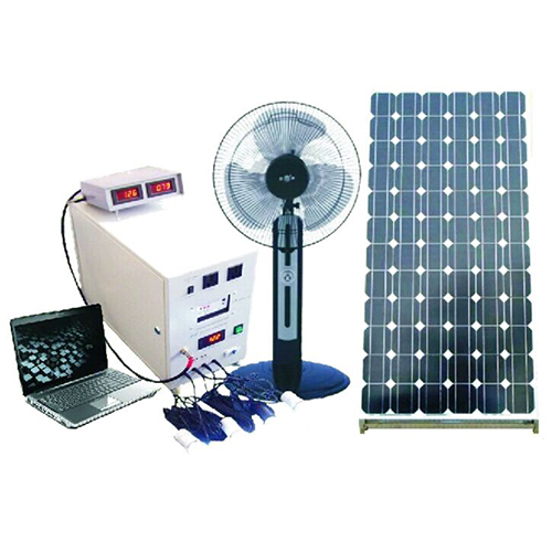 China Factory High Quality Rechargeable 40W 18V Solar Panel 40A Battery Solar System With Mobile Charge Charging Control