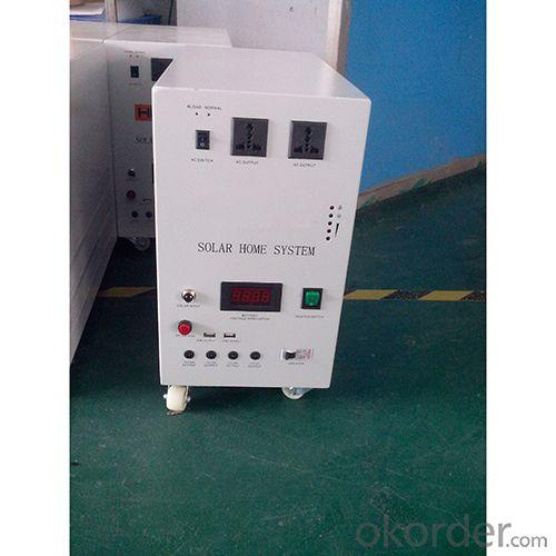 China Factory High Quality Rechargeable 80W 18V Solar Panel 50A Battery Solar System With Mobile Charge Charging Control