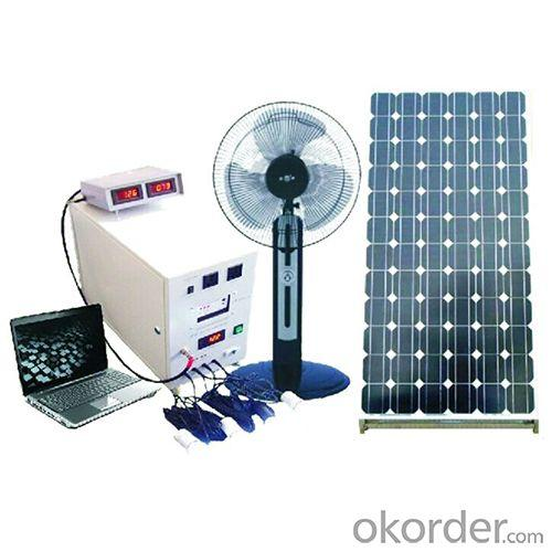 China Manufacture New Hot Selling 100W Solar Panel 100A Battery Solar System With Mobile Charge Charging Control