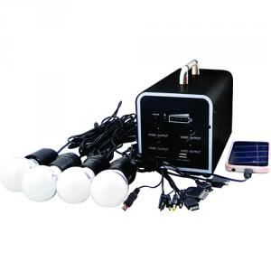 China Manufacture High Quality 20W 18V Solar Panel 12A Battery Solar System One key Operate
