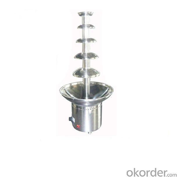Five Layers Stainless Steel Commerical Chocolate Fountain