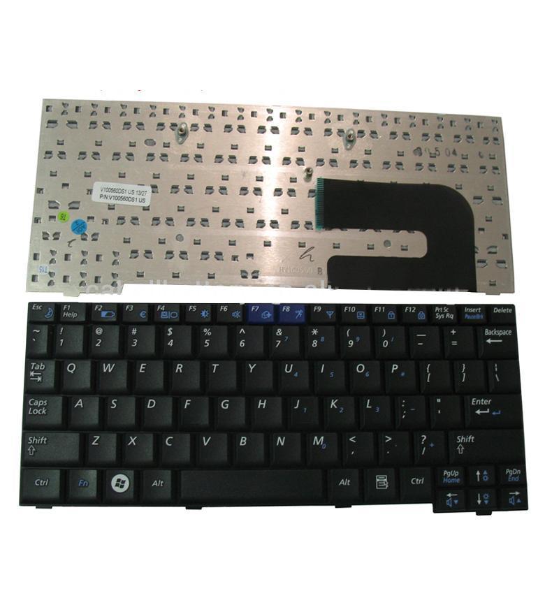 Computer Keyboard Orignal Laptop Keyboard For Samsung, Nc10, Nd10, N108, Nc310, N110, Np10, N128, N140, US Layout