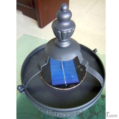 Aluminum Solar Garden LED Light 1.8Meters High From China Manufacturer