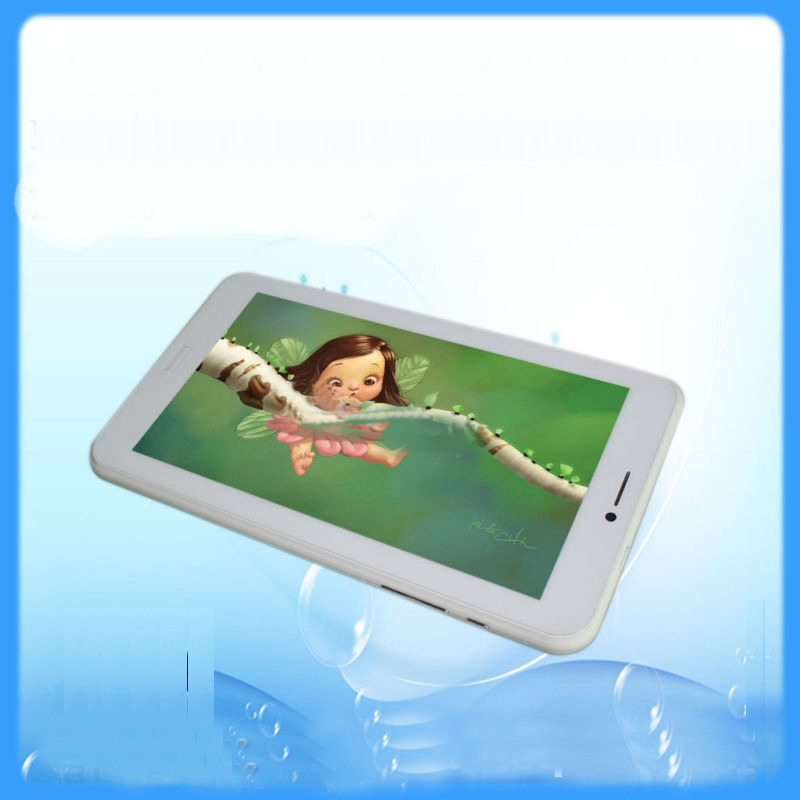 Android4.2 Bluetooth 4.0+Gps+Fm+Battery  Dual Sim Card 2G 7 Inch 3G Tablet High Quality