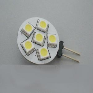 Hot Sale 1W G4 SMD LED Light With 6 Pcs Taiwan SMD5050 LED Chip