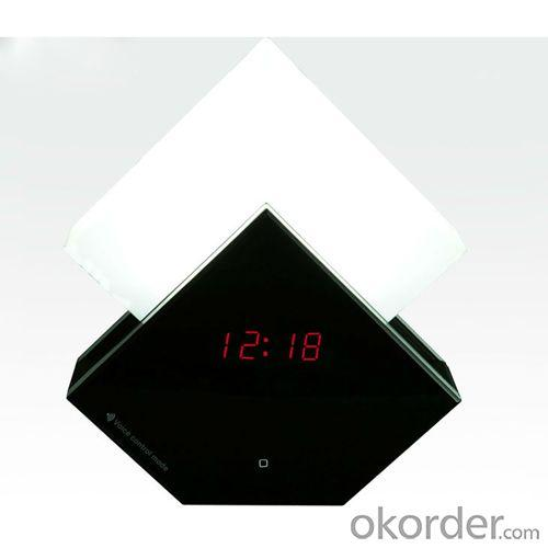 Touch Sensitive Lamp,Wake Up Led Touch Light With Clock