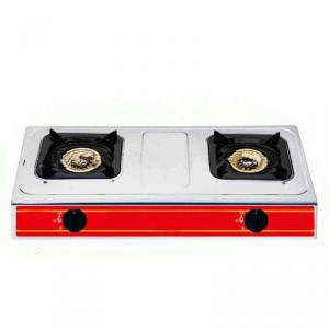 Gas Cooker Double Burner Automatic Ignition