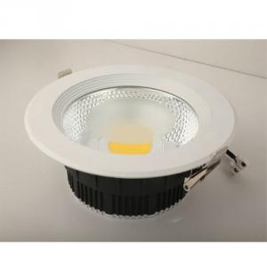 Aluminum Recessed 20W COB Downlight Led