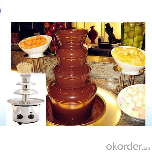 Wedding Champagne Low Price Stainless Steel Chocolate Fountain Machine