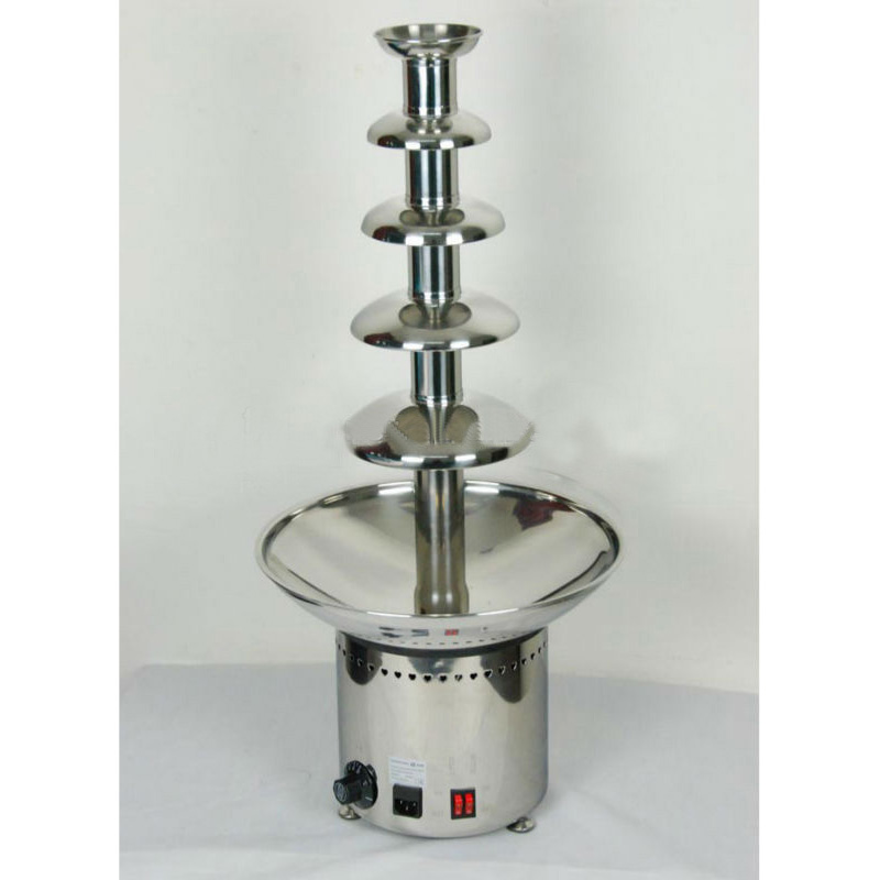 5 Layers 80Cm Stainless Steel Commercial Fuente De Chocolate