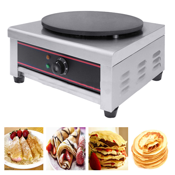 Crepes Maker with One Pull-out Drip Tray