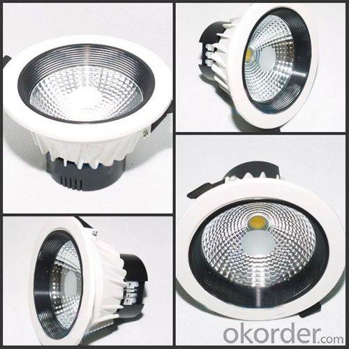 2014 New High Lumen Good Quality 3inch To 8inch 3w To 22w Cob Led Downlight
