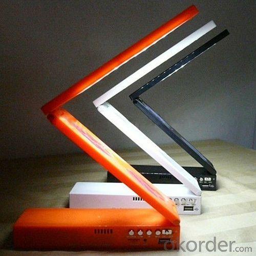 Folder Led Desk Lamp With Mp3 Player