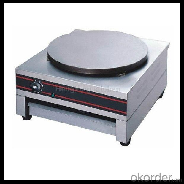 Stainless Steel Electric Crepe Maker Single Plate
