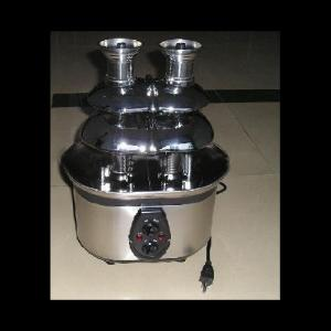 320W S/S Dual Towl Chocolate Fountain Withgs Rohs Ce Lfgb