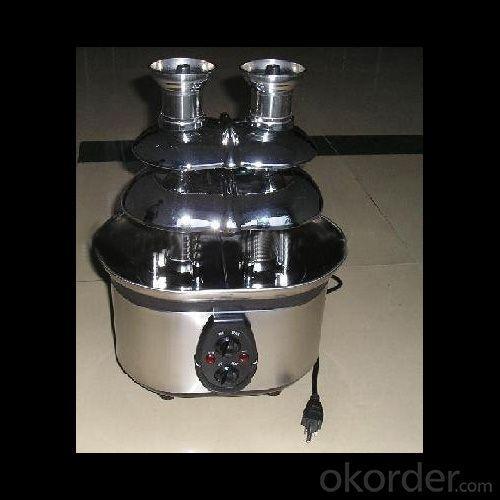 320W S/S Dual Towl Chocolate Fountain Withgs Rohs Ce Lfgb