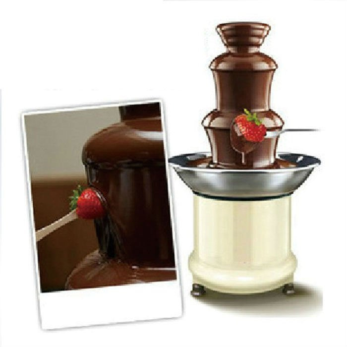 Chocolate Pro 3-Tier Chocolate Fountain