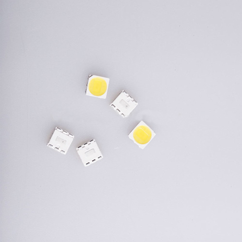 5050 SMD LED Single Chip Green Color 520-530Nm