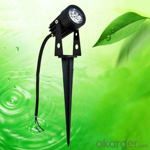 Outdoor Waterproof IP65 High Lumen And High Quality CE, ROHS 3*1W LED Garden Light From China Factory