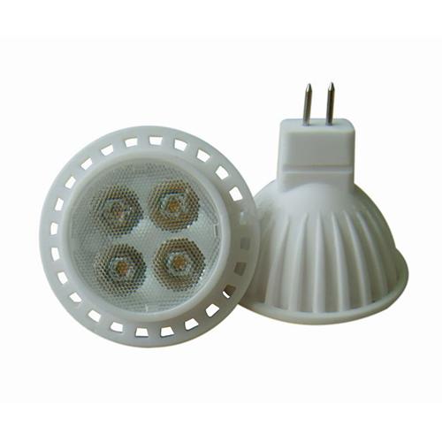 Ceramic Heatsink 6W Mr16 Led Bulb Light
