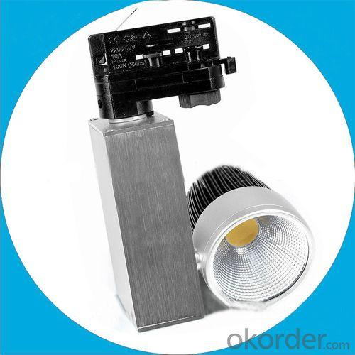 High Output 10W Led Cob Track Light, 2014 New Product, Shop Window Track Lighting
