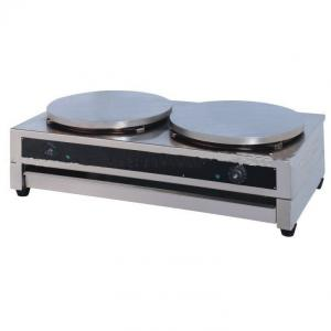 Two Plates Electric Crepe Maker China Manufacturer