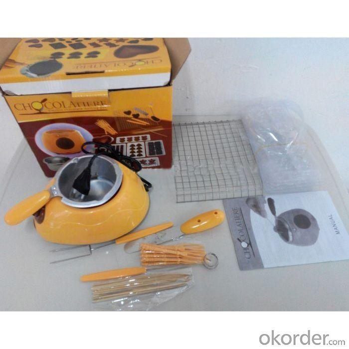 Chocolate Melting Kit And Chocolatiere Fondue
