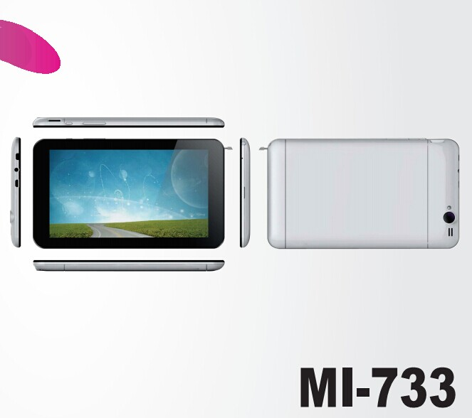 7Inch Mt8382 Quad Core 1.3Ghz  3G Phone Call Tablet Pc High Quality