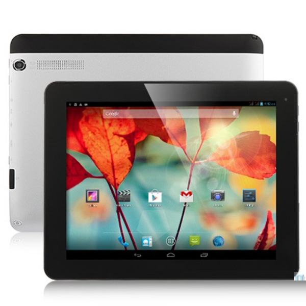 9.7 Inch Ips Android 4.2 Os Mtk8389 Quad Core Wifi Gps Tv Wcdma 3G Phone Call Vatop Tablet Pc
