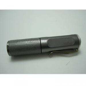 1 LED Black Aluminium Led Flash Light