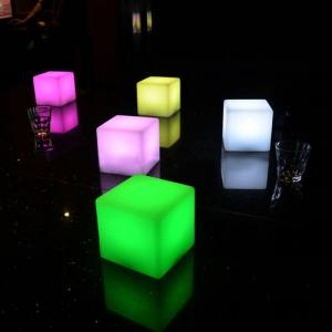 10X10X10Cm Wireless Decorative Multi Color Changing Rechargeable Led Table Lamps