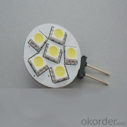 1W G4 SMD LED Light With 6 Pcs Taiwan SMD5050 LED Chip