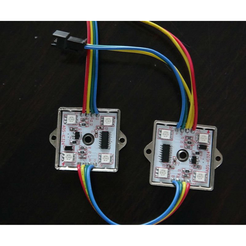 Waterproof Changeable Color Programmable 5050 LED Module, Dc12V Lpd6803