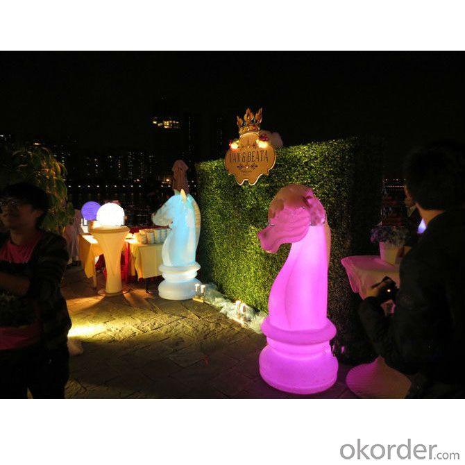 The Illuminated Knight LED Garden Light From China Manufacturer