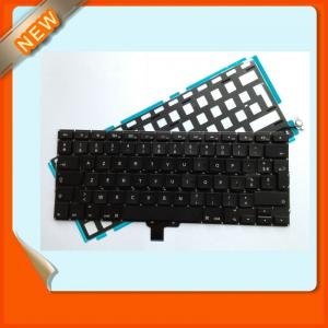 New French France Layout Keyboard With Backlight For Macbook Pro Unibody 13&Quot; A1278 Mb990 Mc374 2009 2010 2011 Year Laptop