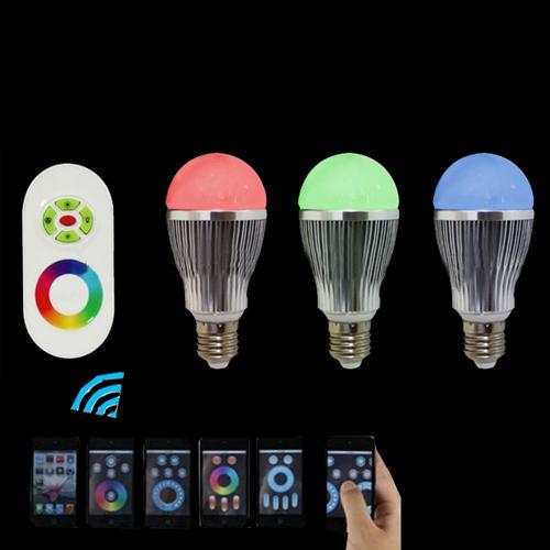 6w 8w 10w 12W RGBW LED Bulb E26/E27 - Wifi Controlled
