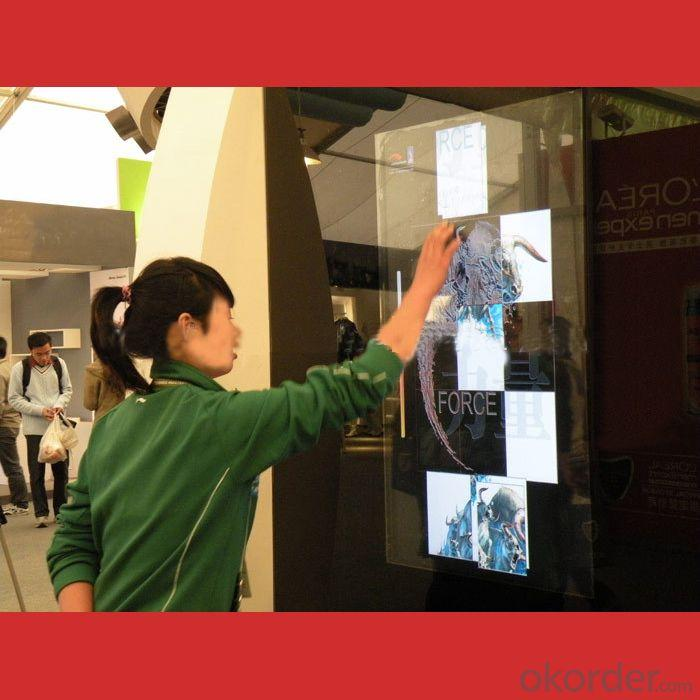 2014 Latest Transparent Multi-Touch Foil/Film Supports2/4/10/20/30/40 Touch Points