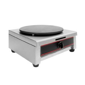 Gas Crepe Maker Single Head with Drip Tray
