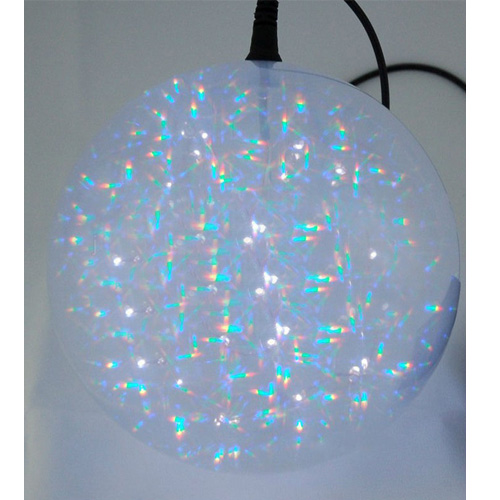Holographic Led Christmas Sphere Garland