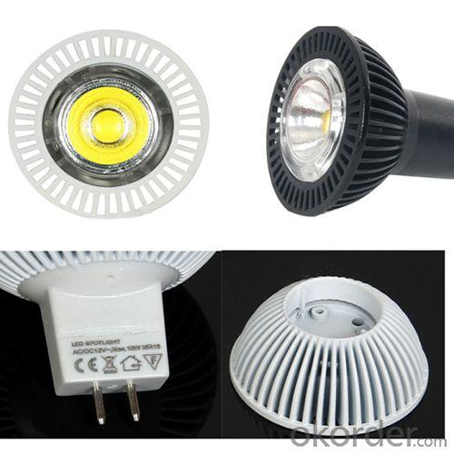 2014 New Products On China Market 10W Led Cob Gu10 Led Dimmable