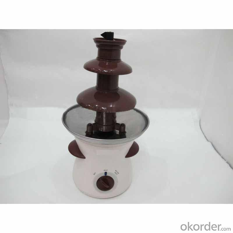 Multi-Layer Chocolate Fountain With Auger Style-No Pump