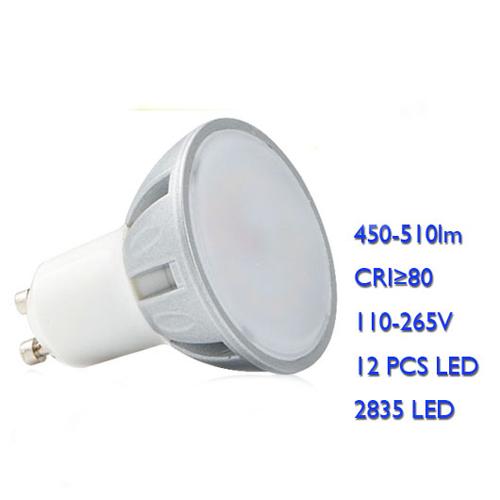 Gu10 Gu5.3 Mr16 Smd Cob 7W 500Lm Led Spotlight