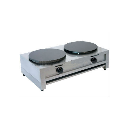 Two Hands Electric Crepe Maker Stainless Steel Body