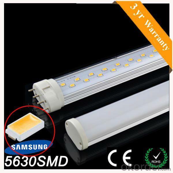 High Quality Samsung Smd5630 4Pins 18W 2G11 Led,2G11 Led Tube,2G11 Pll Led Tube