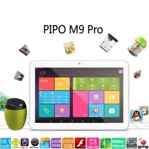 Pipo M9 Pro 3G / M9 Pro Wifi 10.1'' Quad Core Tablet Rk3188 Ips Fhd 2G/32Gb Gps 7600Mah Battery