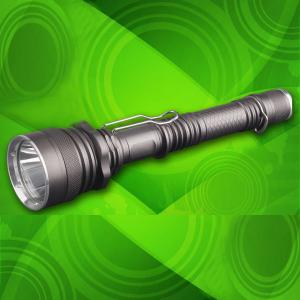 CREE XM-L T6 LED 750Lm Aluminium Hunting Super Bright Police Led Flashlight With 18650 Li-ion Battery