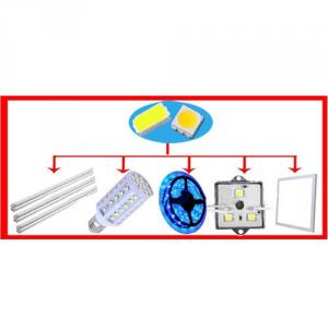 Epistar Chip 0.5W SMD LED 5730 50-60lm (Rohs Certificate)