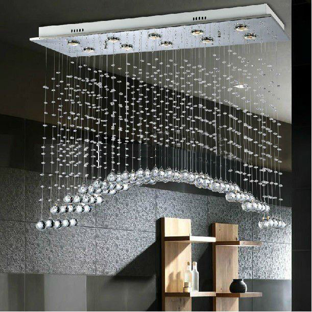 Modern Crystal Chandelier/Pendant Light/Hanging Lamp